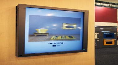 T2 video production team produced a series of display advertising, display case, display device, electronic device, multimedia, orange