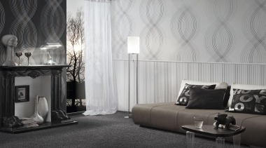 Flock III Range - Flock III Range - black, black and white, couch, curtain, floor, flooring, furniture, home, interior design, living room, room, textile, wall, window, window covering, window treatment, gray, black