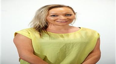 Sales: Business DevelopmentKirsty has worked as a telemarketer arm, blond, blouse, hair, hair coloring, hairstyle, human hair color, long hair, neck, outerwear, shoulder, sleeve, smile, t shirt, top, yellow, white