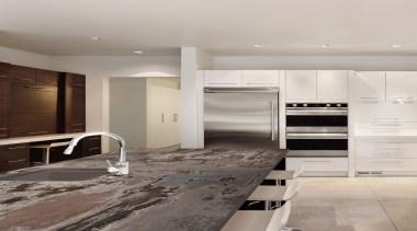 RS11186 Dekton Kitchen - Trilium 2 (1) - cabinetry, countertop, cuisine classique, floor, flooring, interior design, kitchen, room, wood flooring, gray