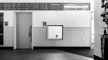 MERIT WINNERSPCA Wellington (3 of 4) - Hawkins architecture, black, black and white, floor, home appliance, interior design, monochrome, monochrome photography, product design, wall, white, white, gray