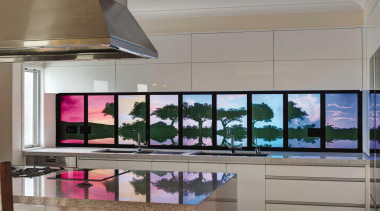 Every kitchen needs a hero and a vibrant display device, glass, interior design, window, gray
