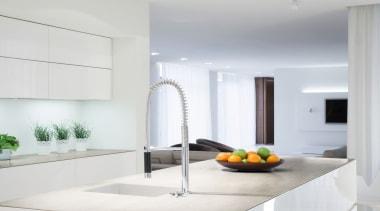 Blanc Concrete 2 - Blanc Concrete 2 - countertop, interior design, kitchen, living room, product design, white