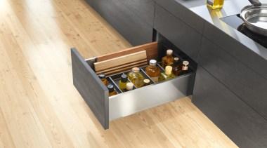 AMBIA-LINE inner dividing system – organization at its drawer, floor, flooring, furniture, hardwood, product design, table, wood, wood flooring, yellow, orange