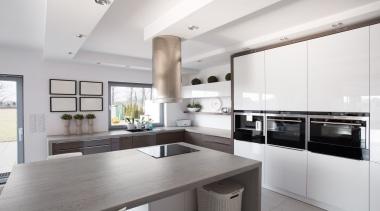 RS11151 Dekton Kitchen - Aldem - RS11151 Dekton cabinetry, countertop, cuisine classique, interior design, interior designer, kitchen, property, real estate, gray, white