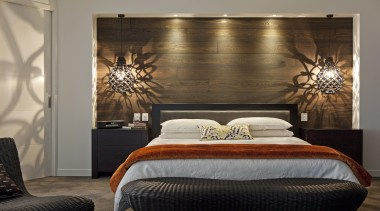 Choose from a range of engineered timber flooring bed, bed frame, bedroom, ceiling, furniture, home, interior design, room, suite, wall, window covering, gray, brown