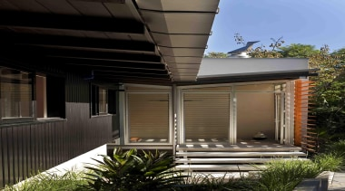 Remuera, Auckland - Glade House - architecture | architecture, facade, home, house, real estate, residential area, siding, black