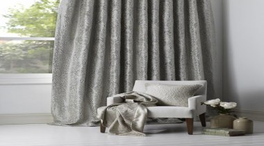 Peony - curtain | decor | interior design curtain, decor, interior design, textile, window, window covering, window treatment, gray