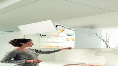 SERVO-DRIVE for AVENTOS - ceiling   floor   ceiling, floor, furniture, interior design, lamp, light fixture, lighting, lighting accessory, product design, room, wall, white