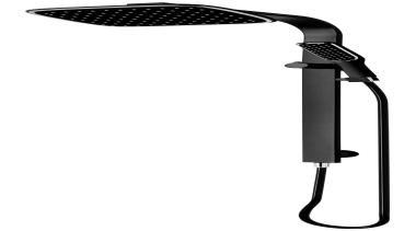 Black Edition Double Head Shower SBK041 - Black black, black and white, product design, white