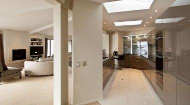 Mt Victoria Kitchen - Mt Victoria Kitchen - apartment, ceiling, estate, floor, flooring, home, interior design, lobby, property, real estate, gray, brown