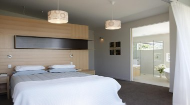 Parnell, Auckland - Nikau House - architecture | architecture, bed, bedroom, ceiling, home, house, interior design, property, real estate, room, window, gray
