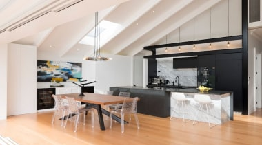 Caro Design – TIDA New Zealand Designer ceiling, countertop, interior design, kitchen, loft, real estate, white
