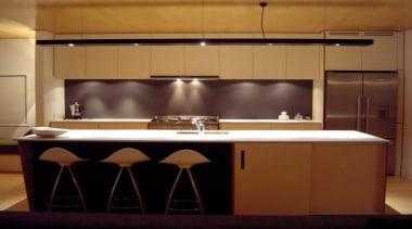 Stone Italiana - Colour crystal.SGA Design - Stone cabinetry, countertop, cuisine classique, interior design, kitchen, light fixture, lighting, room, under cabinet lighting, brown