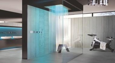 Cemento Grigio Rasato - Cemento Grigio Rasato - bathroom, ceiling, floor, flooring, glass, interior design, plumbing fixture, tile, wall, gray