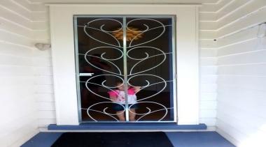 koru heart mt albert.jpeg - koru_heart_mt_albert.jpeg - door door, glass, interior design, structure, window, white, gray