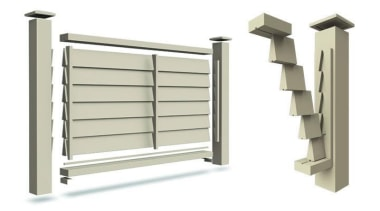 Simpler. Faster. Proven Weathertight. - A-lign Fencing - product, product design, window, white