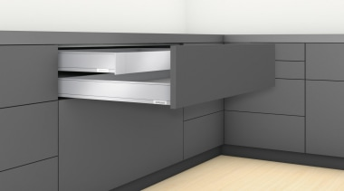 LEGRABOX pure - Box System - chest of chest of drawers, drawer, furniture, kitchen, product, product design, sideboard, gray, white