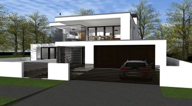 21 sidmouth road concept   hsuntitled path2.jpg architecture, building, elevation, facade, home, house, luxury vehicle, official residence, property, real estate, residential area, siding, black