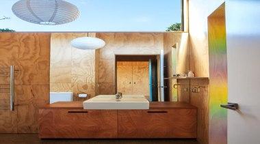 Bathroom - architecture | bathroom | ceiling | architecture, bathroom, ceiling, daylighting, home, interior design, room, wall, brown