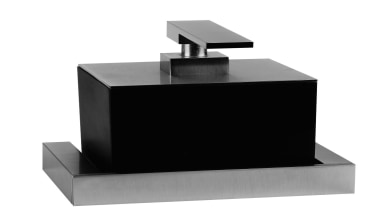 To complete the total look of a spa product, product design, table, white, black