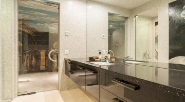 Winner Bathroom Design of the Year 2013 Victoria bathroom, countertop, floor, interior design, property, room, white