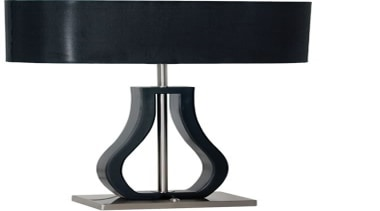 FeaturesThe Fiorelli is a contemporary designer style table lamp, light fixture, lighting, product design, table, white, black