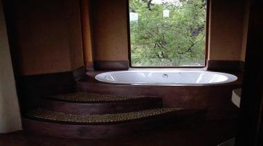 Micro topping 14 - Micro_topping_14 - bathroom | bathroom, bathtub, interior design, plumbing fixture, property, room, sink, black