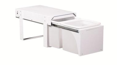 Model KK6F - 2 x 15 litre buckets. angle, desk, furniture, product, product design, table, white
