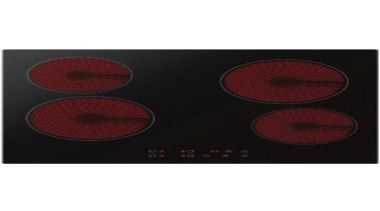 60cm Ceramic CooktopTouch control, Timer, Automatic safety switch red, white, black