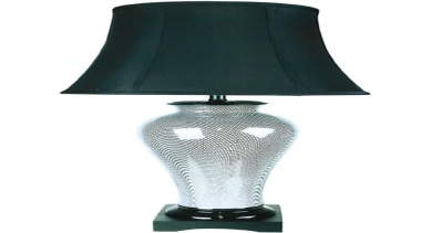 FeaturesThe Jia is a blend of a classic lamp, light fixture, lighting, product design, white