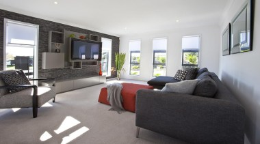 For more information, please visit www.gjgardner.co.nz home, house, interior design, living room, property, real estate, room, white, black, gray