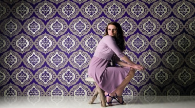 Akoya Range - Akoya Range - beauty   beauty, fashion, girl, model, photo shoot, photography, purple, sitting, gray, purple