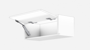 Lift System - AVENTOS HK XS - angle angle, plumbing fixture, product, white