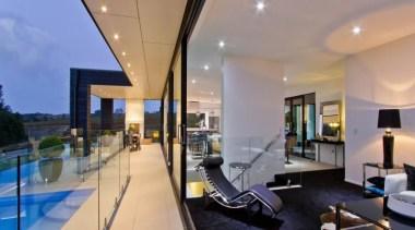 A contemporary house design by Design House Architecture apartment, architecture, condominium, estate, home, house, interior design, property, real estate, gray