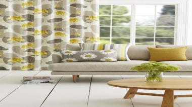 Harrisons Curtains - Harrisons Curtains - couch   couch, curtain, furniture, home, interior design, living room, table, textile, window, window covering, window treatment, yellow, white