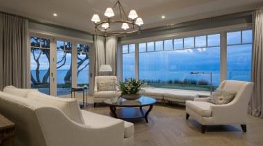 Living area - Living area - ceiling   ceiling, estate, home, interior design, living room, penthouse apartment, property, real estate, window, gray