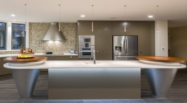 Celia Visser Design – TIDA New Zealand ceiling, countertop, floor, interior design, kitchen, room, sink, gray