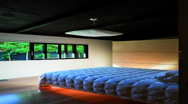 Remuera, Auckland - Glade House - architecture | architecture, bed, bed frame, bedroom, ceiling, daylighting, furniture, home, house, interior design, light, lighting, room, wall, wood, black