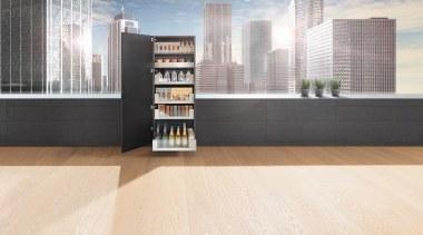 SPACE TOWER with LEGRABOX - floor | flooring floor, flooring, furniture, hardwood, interior design, laminate flooring, shelf, shelving, tile, wood, wood flooring, white