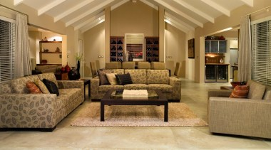 karaka  bos 1 - karaka__bos_1 - ceiling ceiling, estate, floor, flooring, furniture, hardwood, home, interior design, living room, real estate, room, wall, window, wood, wood flooring, brown, orange