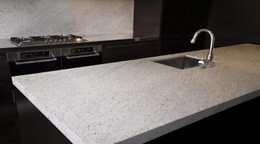 Kashmir White - Granite - countertop | floor countertop, floor, granite, sink, gray, black