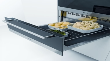 Warming drawer from Miele, perfect for keeping your cookware and bakeware, product, product design, white