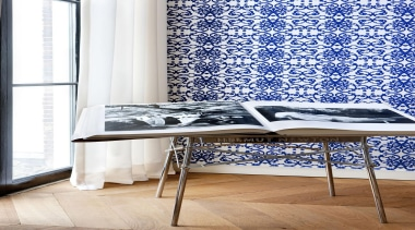 Gardens of Amsterdam Range - Gardens of Amsterdam chair, curtain, floor, furniture, interior design, product, product design, table, textile, wall, wallpaper, white