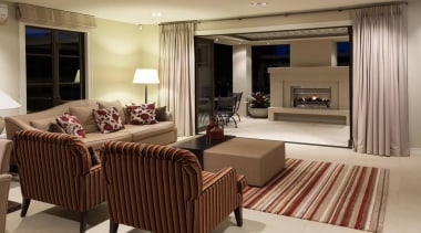 Mellons Bay 17 - interior design   living interior design, living room, room, suite, brown, orange