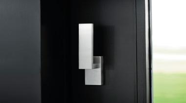 LSQ231 - Solid Internal Lift-Up Sliding Door Handle product design, black