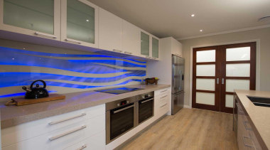 Every kitchen needs a hero and a vibrant cabinetry, countertop, interior design, kitchen, real estate, room, gray, brown