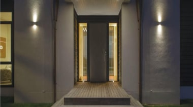 A design by Design House Architecture that focuses architecture, home, interior design, lighting, property, structure, black