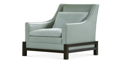 Vintage, antique, and modern pieces creatively express a chair, club chair, furniture, product, product design, white, gray