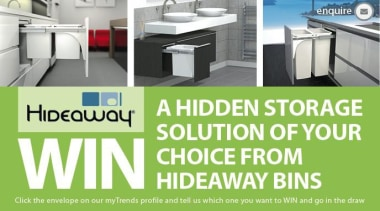 Entries closed - WIN A HIDDEN STORAGE SOLUTION floor, flooring, furniture, product, tile, green, white